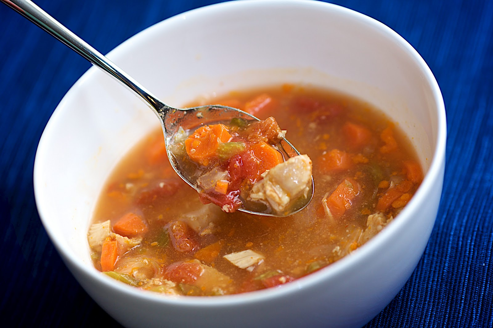 Gratefully Grain-Free: Chicken Tortilla Soup
