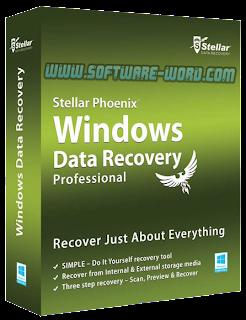 Stellar Phoenix Windows Data Recovery Professional 6.0 Full Version - Poster