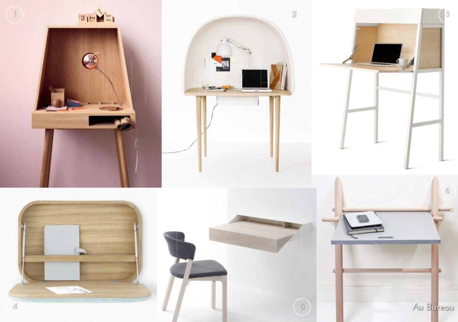 Univers creatifs au bureau - Bureau secretaire design ...