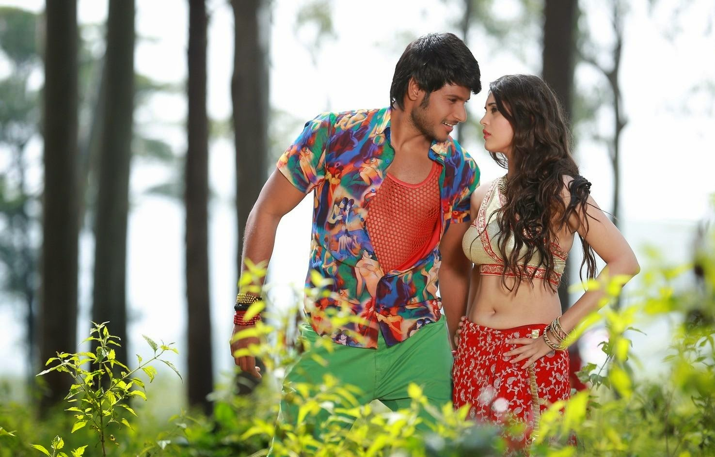 Beeruva movie hot stills