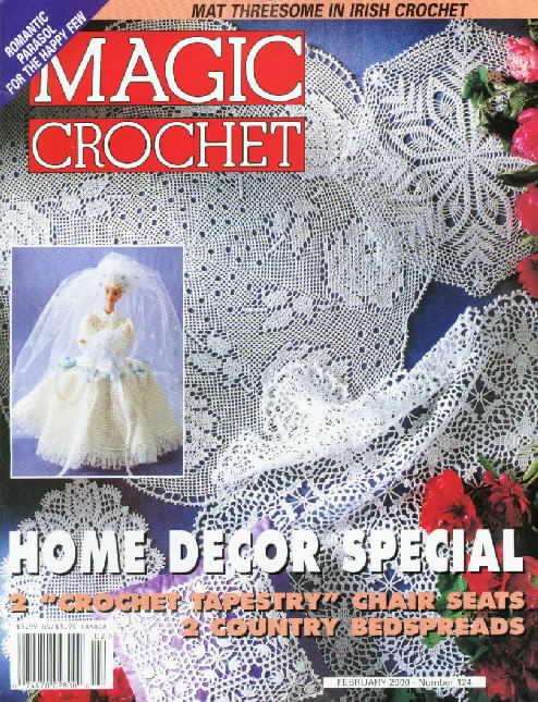 Magic Crochet : Magic Crochet No. 124 ~ Free Crochet Patterns