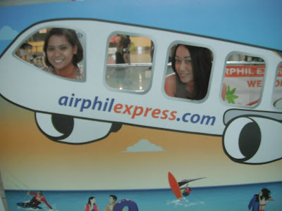 Trisha Sebastian in Airphil Express Airport