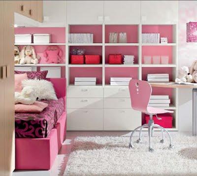 Decoraciones y hogar modernos dormitorios para ni as for Cuartos de ninas modernos