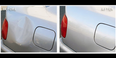 Tip to restore a car Body Dent in 2 Steps
