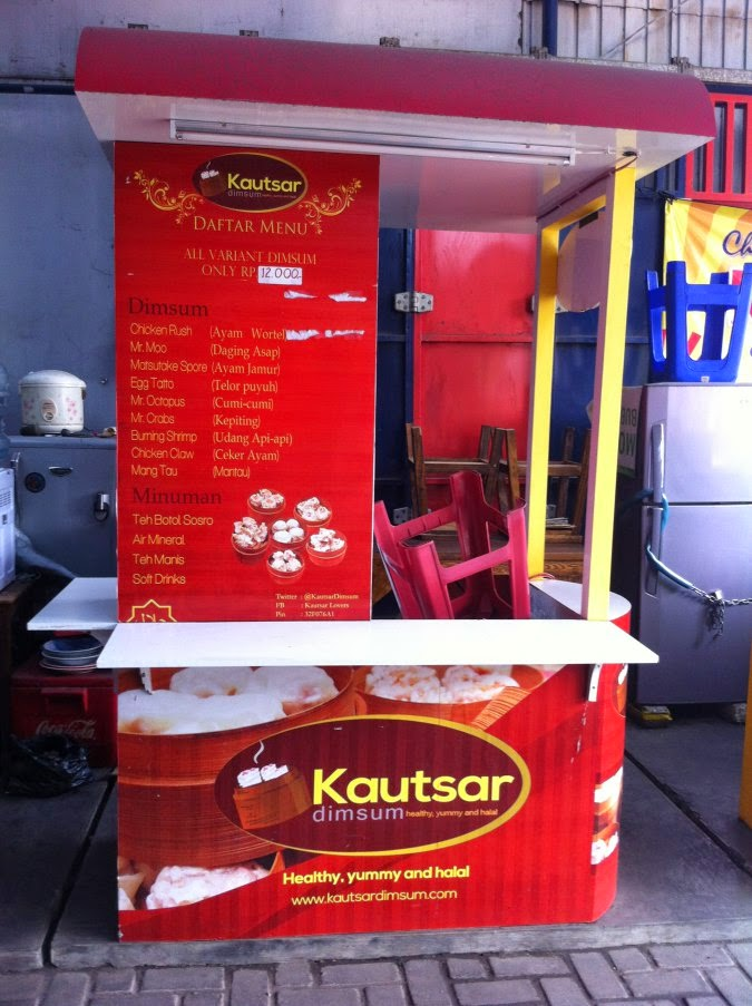 Kautsar Dimsum Outdoor Booth