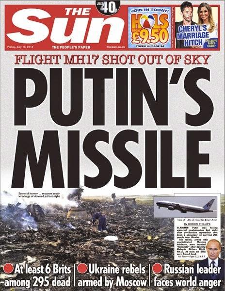 The Propaganda and Politics of MH17  76341634 sun18
