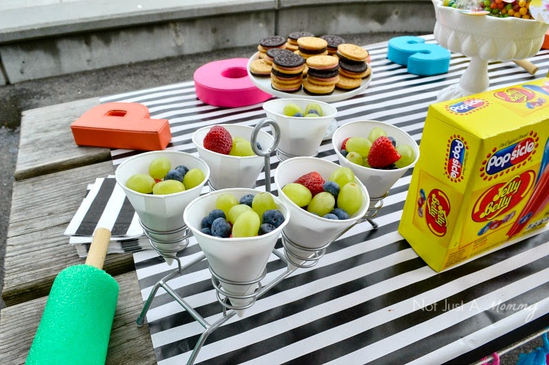 Real Party - Popsicle Park Party fruit cups