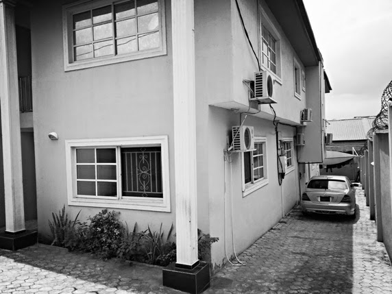 Exclusive Photos of May D 's  House in Magodo.