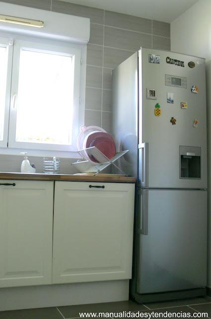 Frigorífico y lavavajillas