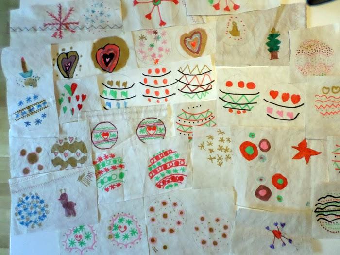 Préférence a zonzo per idee: Lavoretti bambini per Natale: palle di stoffa MZ03