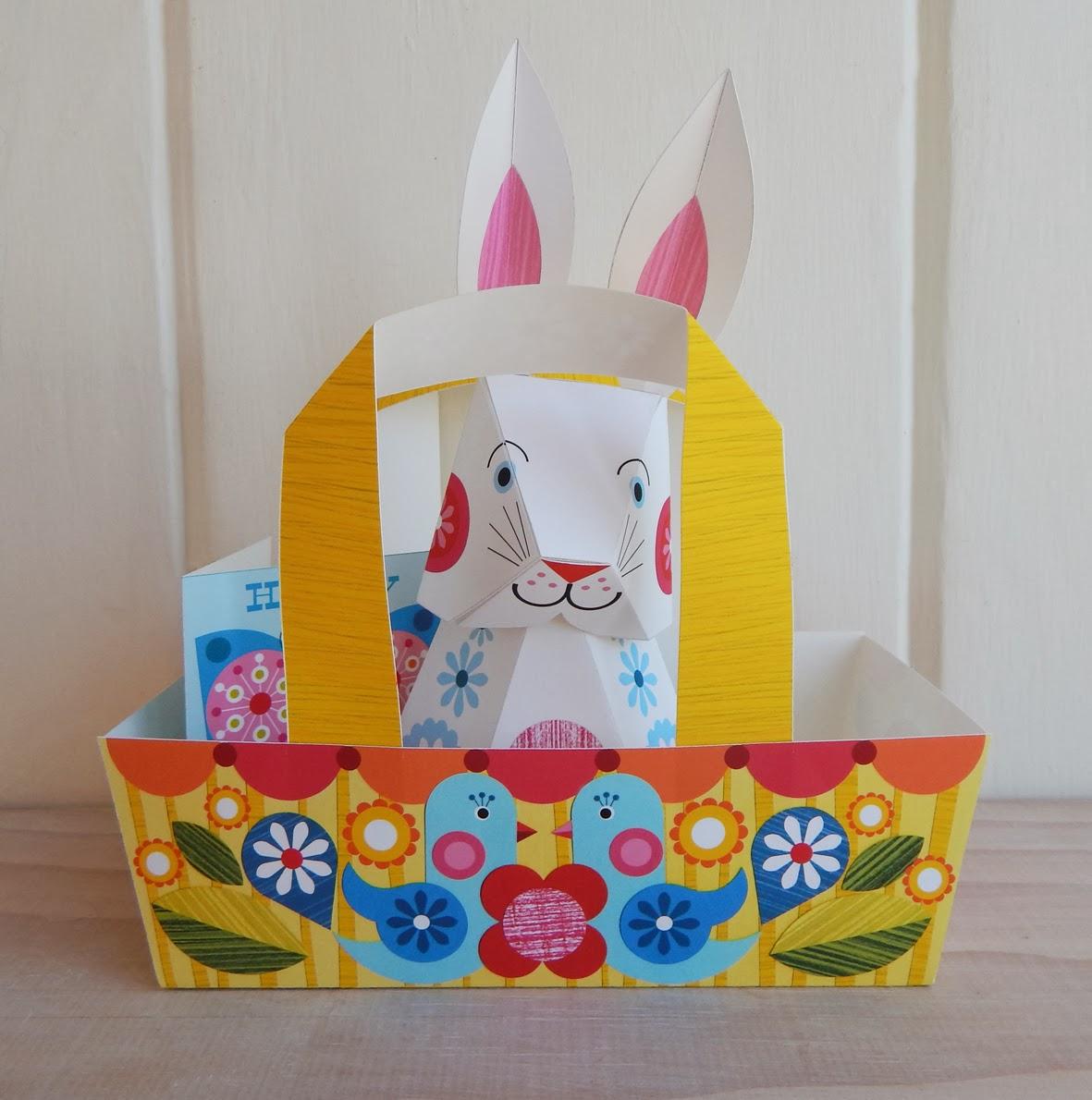 Ellen giggenbach easter decoration paper craft