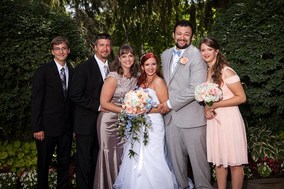 The family...minus Chloë
