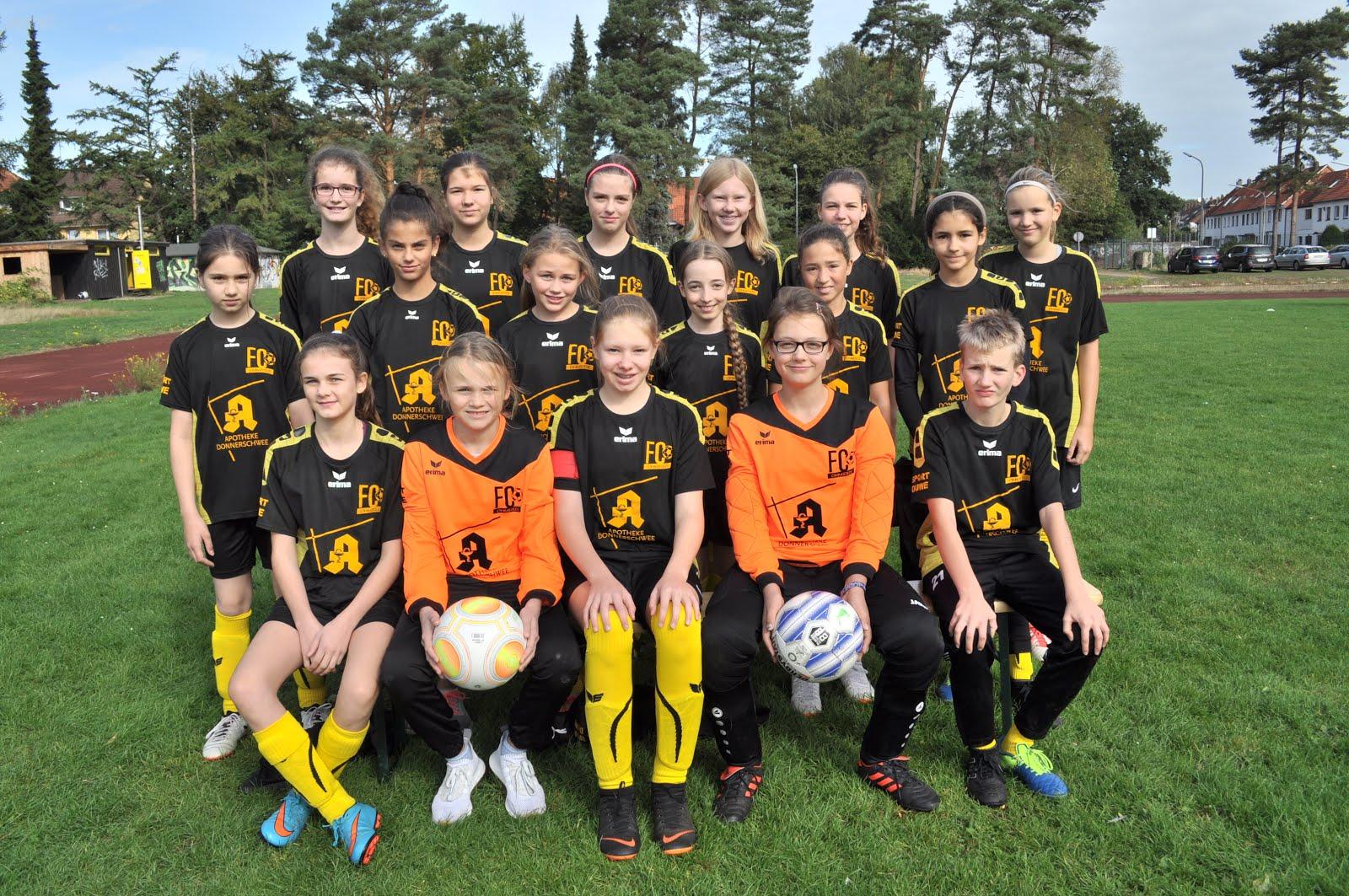Team D Mädchen 2018/2019