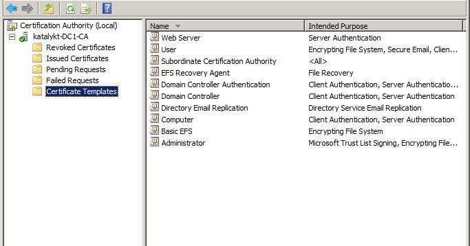 Katalykt preparing a microsoft ca ssl certificate template for katalykt preparing a microsoft ca ssl certificate template for vsphere 5x yelopaper Choice Image