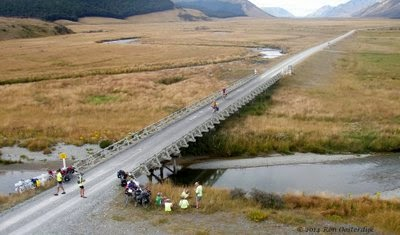 New Zealand Cycle Touring Route - Queenstown to Mossburn ...