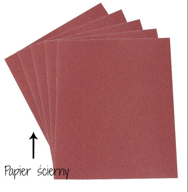 narzędzia decoupage papier ścierny podstawy decoupage