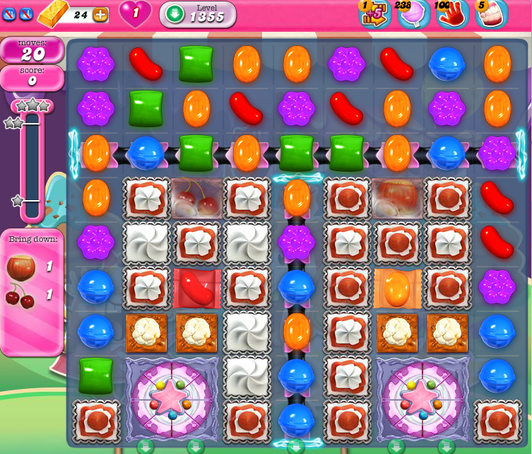 Candy Crush Saga 1355