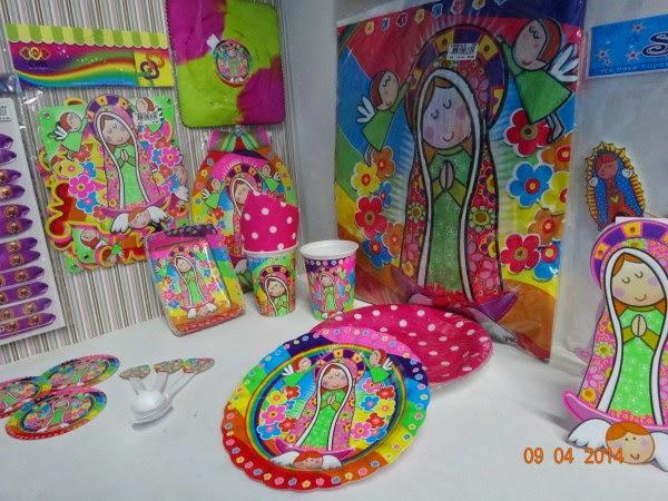 Decoracion Primera Comunion Virgen De Guadalupe ~ tarjetas de invitaci?n platos vasos cubiertos mantel son algunas de