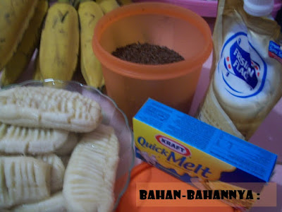 resep pisang panggang cokelat keju