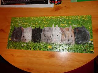 Ravensburger Bunny Parade 200 piece Jigsaw