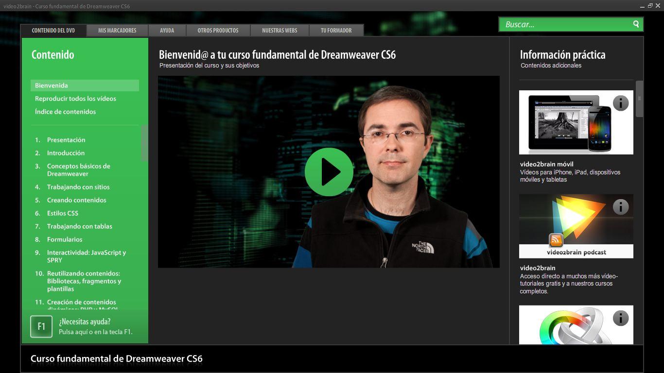 Curso fundamental de Dreamweaver CS6 - Creación de sitios WEB