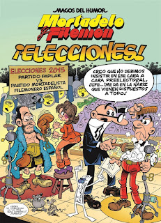 Ranking Mensual. Número 3: Mortadelo y Filemón: ¡Elecciones!