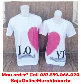 Kaos Couple Valentine Day