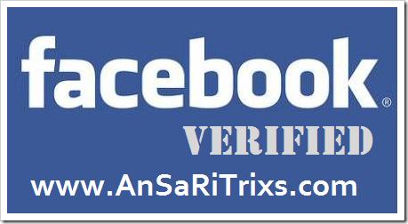 How To Verify Facebook Account 2015