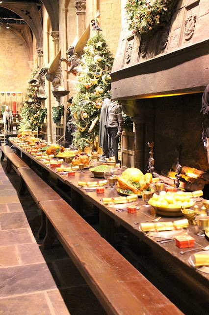 Christmas Harry Potter Grand Hall food