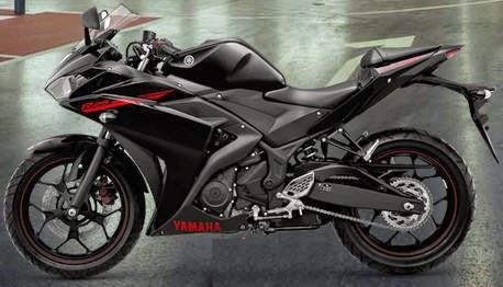 Yamaha R25 Predator Black