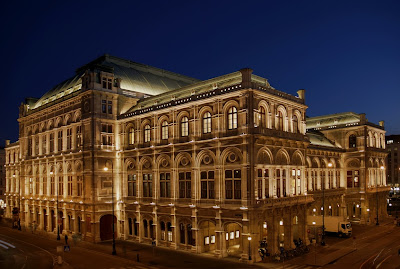 The famous Opera house in Vienna is home to the Grand Ball every Christmas and new years eve.