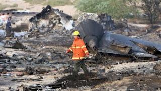 AZZA Air Transport 707 Crash in Sharjah