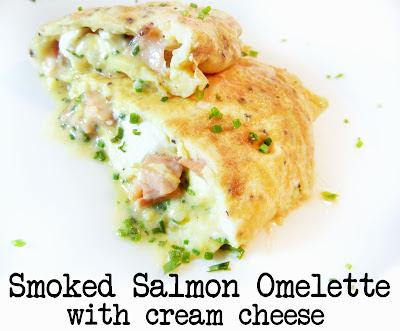 Derek's Kitchen: Smoked Salmon Omelette