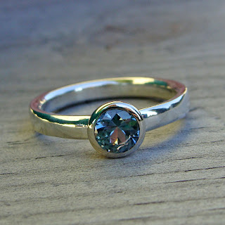 sustainable sapphire ring
