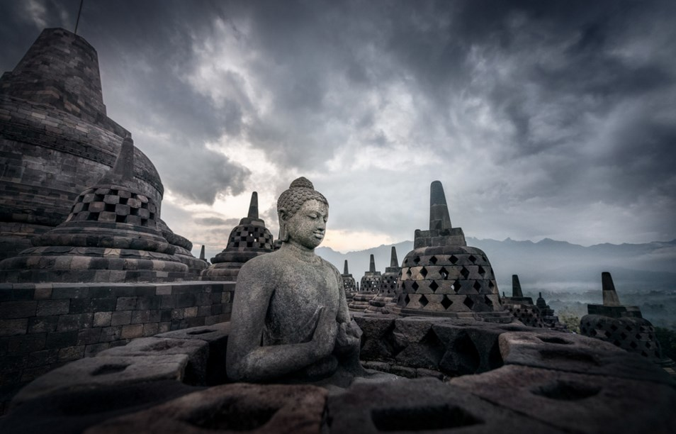 borobudur photogtaphy landscape and art photo consept and tempel photography architectural adventure