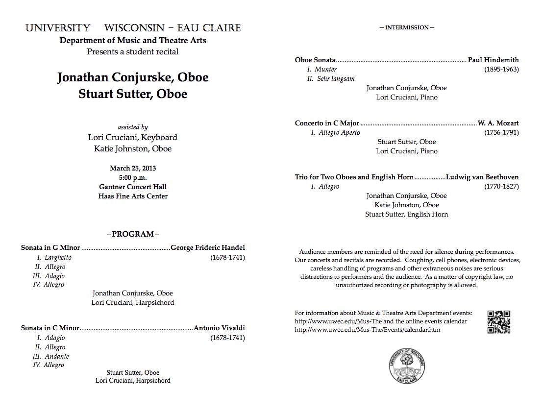 piano recital program template
