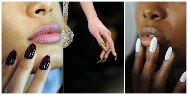 El trabajo fue tan intenso que necesitaron 3 días completos para crear las uñas así como 8.000 cristales de Swarovski.