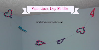 Valentine's Day, Mobile, Craft, pipecleaners