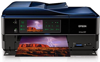 Download Epson Artisan 837 All-in-One Printer Driver & guide how to installing