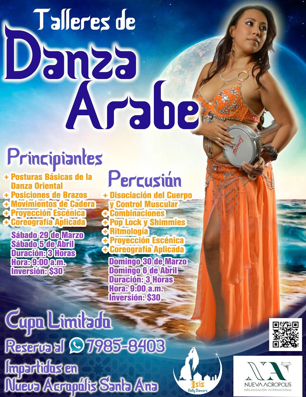 Talleres de Danza Árabe