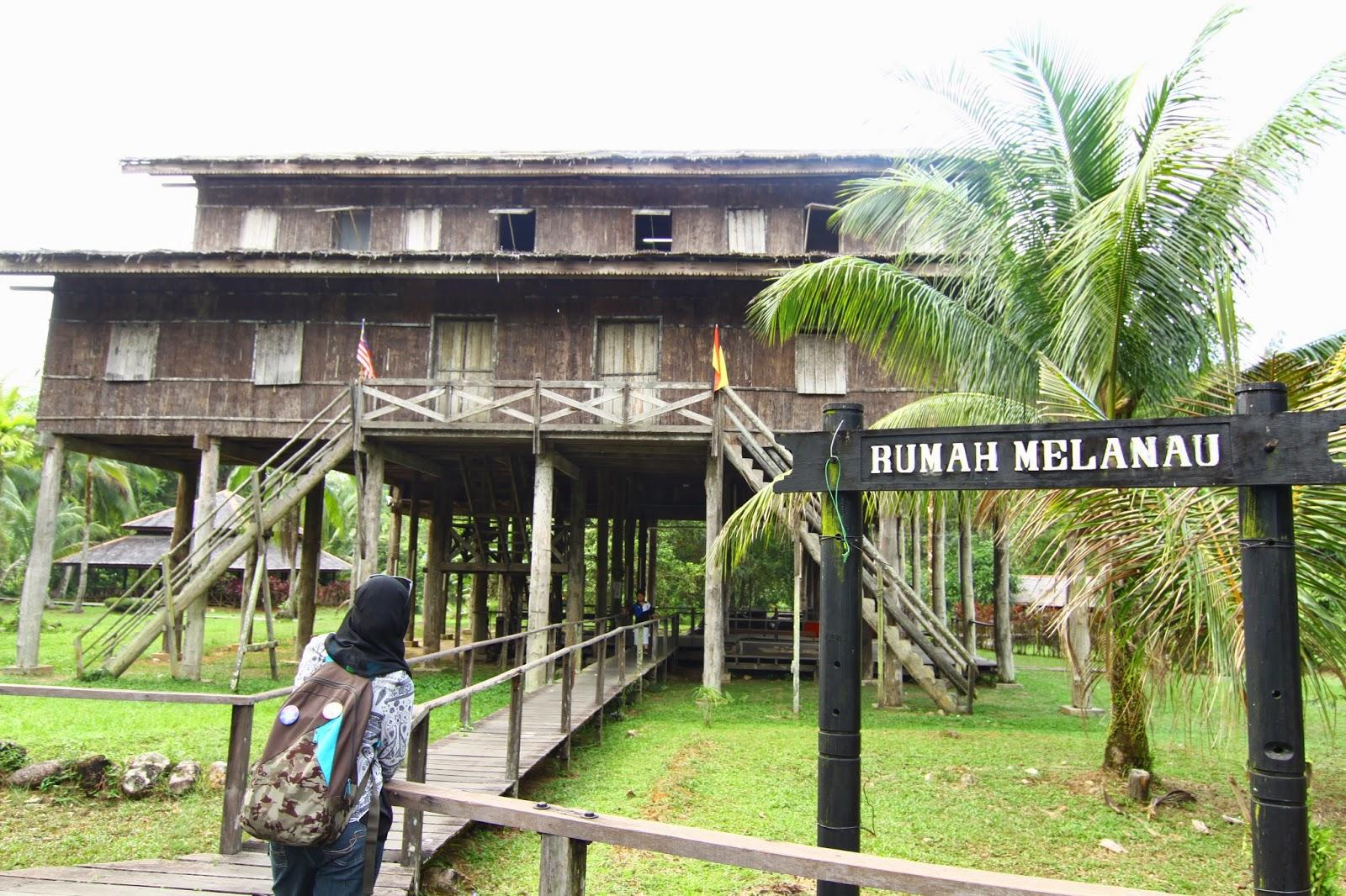 Rumah Melanau Kampung Budaya Sarawak