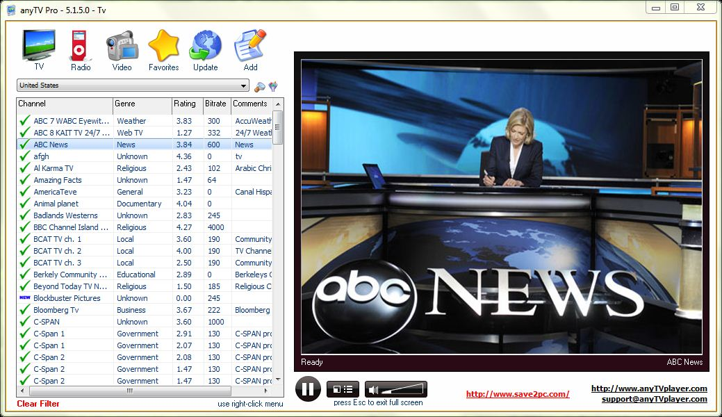 AnyTV Professional V5 1 Incl Patch Activation 2019 Ver.3.5 Beta