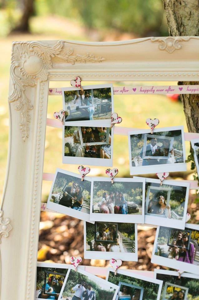 DIY Wedding- Photo booth