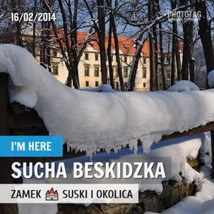 Wokół Zamku suskiego - luty 2014