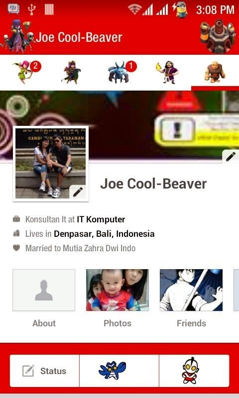 Facebook Mod Tema COC Screenschot