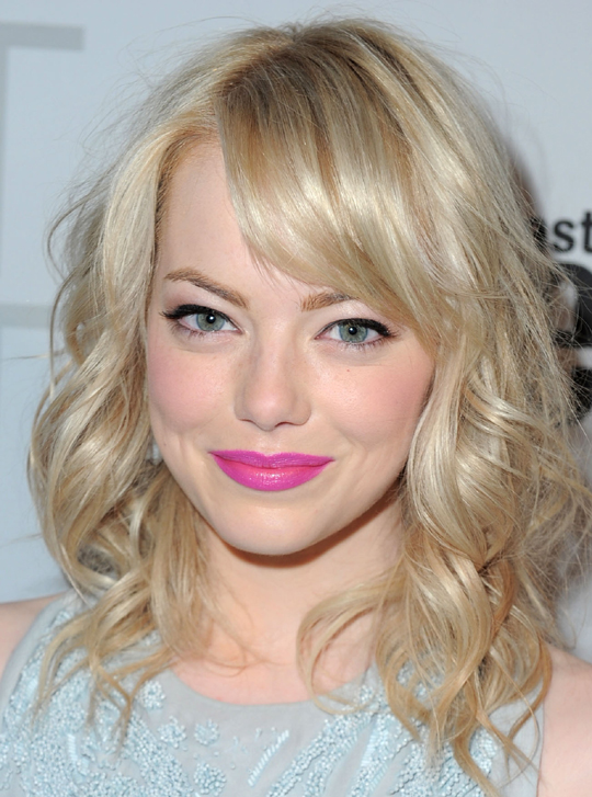 female Hollywood star Emma Stone
