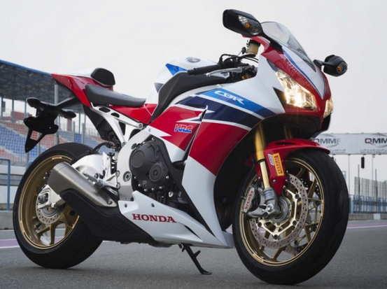 Honda CBR1000RR SP-warna merah
