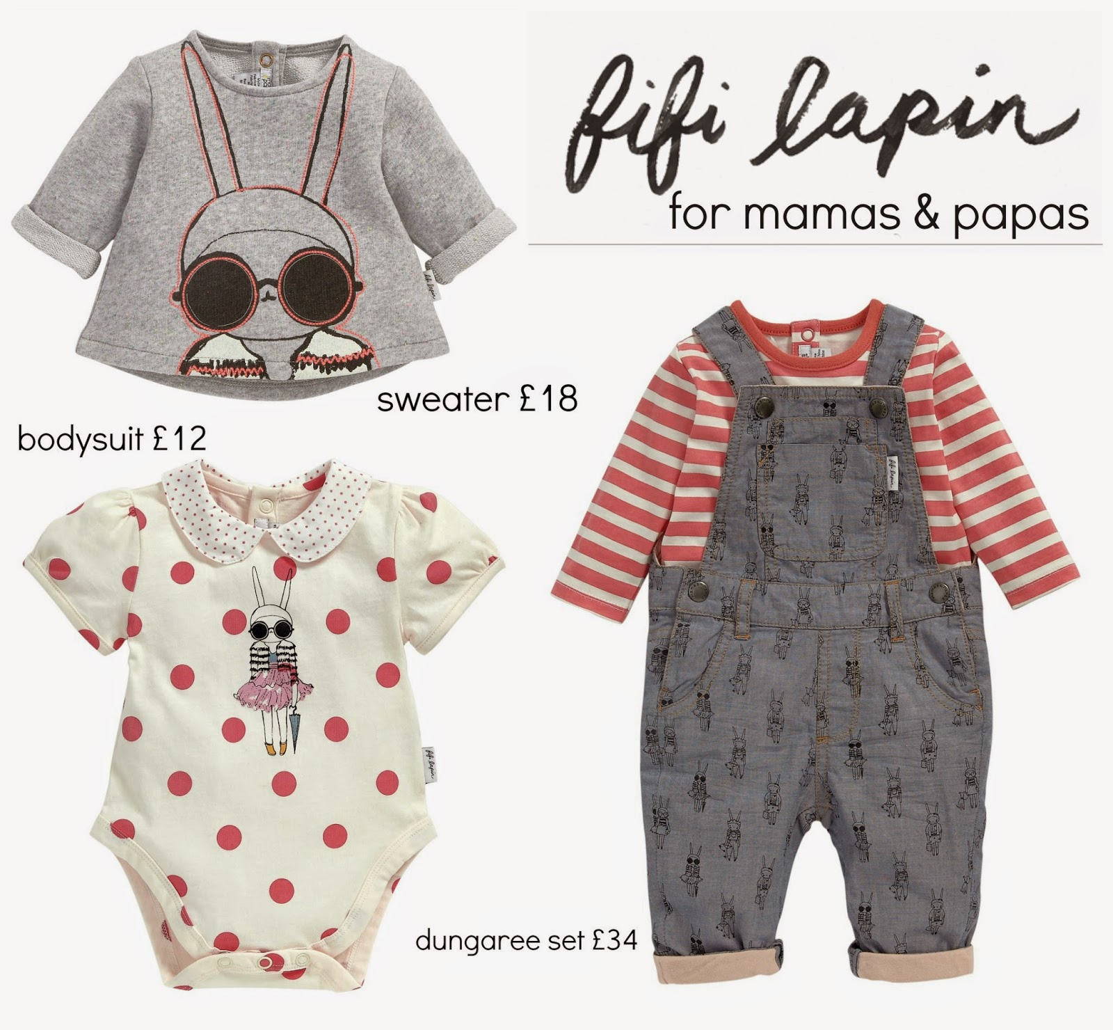 mamasVIb | V. I. BRAND: The Fifi Lapin exclusive kids collection launches at Mamas & Papas | fiifi lapin | fit lapin for mamas and papas | new collection | new launch | kids style | exclusive fashion collection | fiifi | bunny | blogging bunny | mamas and papas | girls clothes | bedding | fit lapin teddy | bunny | exclusive range | lapin | blogging | fashion | kids | style | mamasVIB | tops for girls | bunny print | bunny style | mamas | papas | shop | online collection | fifi