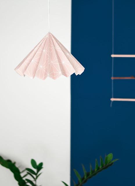 Lampenschirm zum Selbermachen – ganz leichte Pendelleuchte für Schlafzimmer, Küche, Flur und Wohnzimmer!