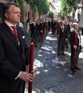Real Cofradía Sacramental de Santa María Magdalena de Sevilla. Infraoctava del Corpus. Sevilla 2012. Foto. G. Márquez.